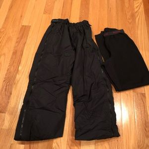 Ladies Columbia & Hot Chillys snow gear